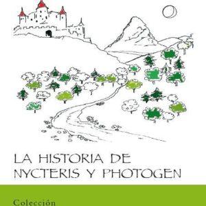Portada del libro La Historia de Nycteris y Photogen, de George MacDonald, editado por la Fundación Maior
