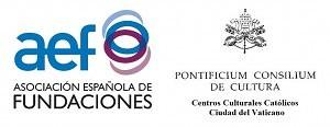 Logo de la Asociación Española de Fundaciones y del Pontificio Consejo de Cultura