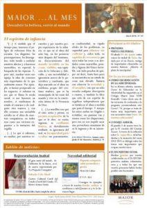 Boletín mensual de noticias y actividades de la Fundación Maior. Edición de abril 2014
