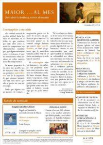 Boletín mensual de noticias y actividades de la Fundación Maior. Edición de diciembre 2014