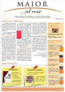 Boletín mensual de noticias y actividades de la Fundación Maior. Edición de marzo 2013