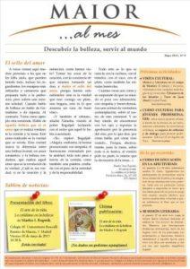 Boletín mensual de noticias y actividades de la Fundación Maior. Edición de mayo 2013