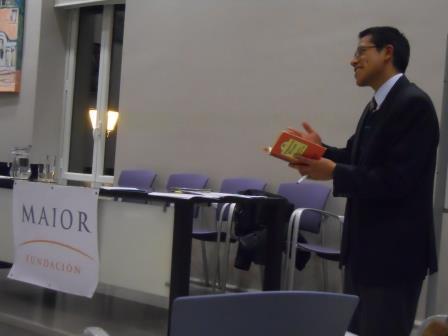 """Foto del ponente de la Sesión literaria / Encuentro de lectura sobre """"El puente de san Luis Rey"""", de Thornton Wilder"""