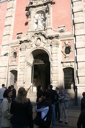 Visita Cultural en Madrid a la Iglesia de San José y al Palacio de Buenavista por la Fundación Maior