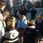 Visita a Belenes de Madrid con familias y niños 2012