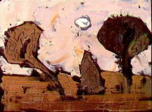 Three trees, de William Congdom. Imagen de la Escuela para Familias de la Fundación Maior