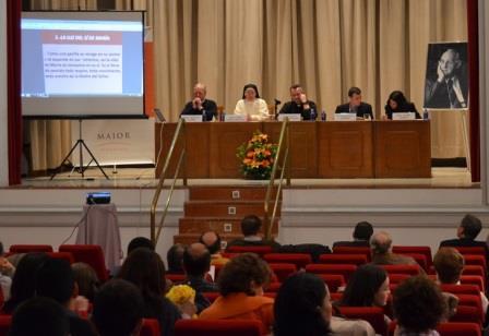 Foto del Encuentro Fe Cristiana y Servicio al Mundo 2015 (formación en teología para laicos) sobre la Vida Consagrada según Hans Urs von Balthasar