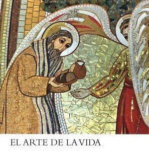 Portada del Libro de teología y formación cristiana: El arte de la vida, de Marko I,. Rupnik, editado en español por la Fundación Maior