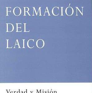 Portada del Libro de teología y formación cristiana: Formación del laico, de Ricardo Aldana, editado por la Fundación Maior