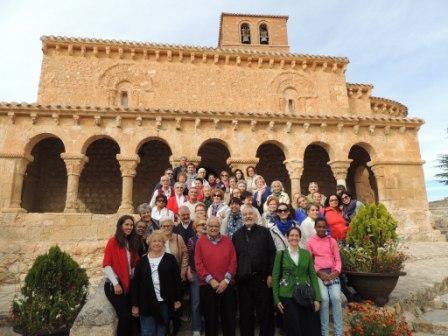 Foto de la Visita Cultural a Burgo de Osma y San Esteban de Gormaz que realizó la Fundación Maior en octubre 2015