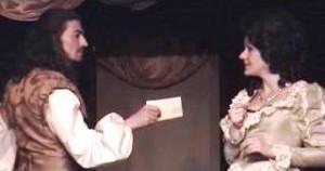 """Escena de """"El perro del hortelano"""", de Lope de Vega, representada por Teatro Karpas"""