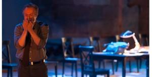 """Escena de """"Julio César"""", de Shakespeare, dirigida por Paco Azorín en el Teatro Bellas Artes"""