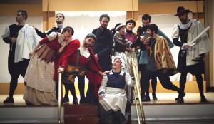 Montaje de Las alegres comadres de Windsor, de Shakespeare, por La Pequeña Compañía de la Fundación Maior