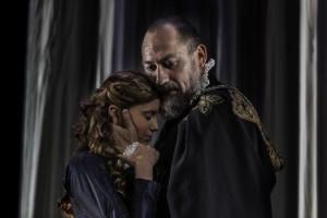 """Escena de """"Otelo"""", de Shakespeare, representada por Noviembre Teatro"""