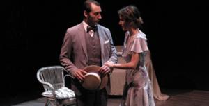 """Escena de """"Tres años"""", de Chéjov, representada por Teatro Guindalera"""