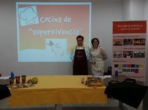 Foto Taller Cocina de supervivencia Fundación Maior