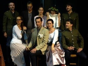 """Representación de """"Tres hermanas"""", de Brian Friel, en Teatro Guindalera"""
