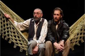 Escena de Vania, versión de Moma Teatre en Teatros del Canal