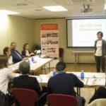 Foto de la Escuela para Profesionales sobre el sentido del trabajo, Fundación Maior