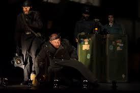 """Escena de la obra de teatro """"Ricardo III"""", de William Shakespeare, versión de la Noviembre Teatro dirigida por Eduardo Vasco"""