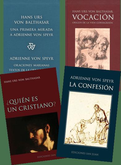 Libros de Adrienne von Speyr y Hans Urs von Balthasar
