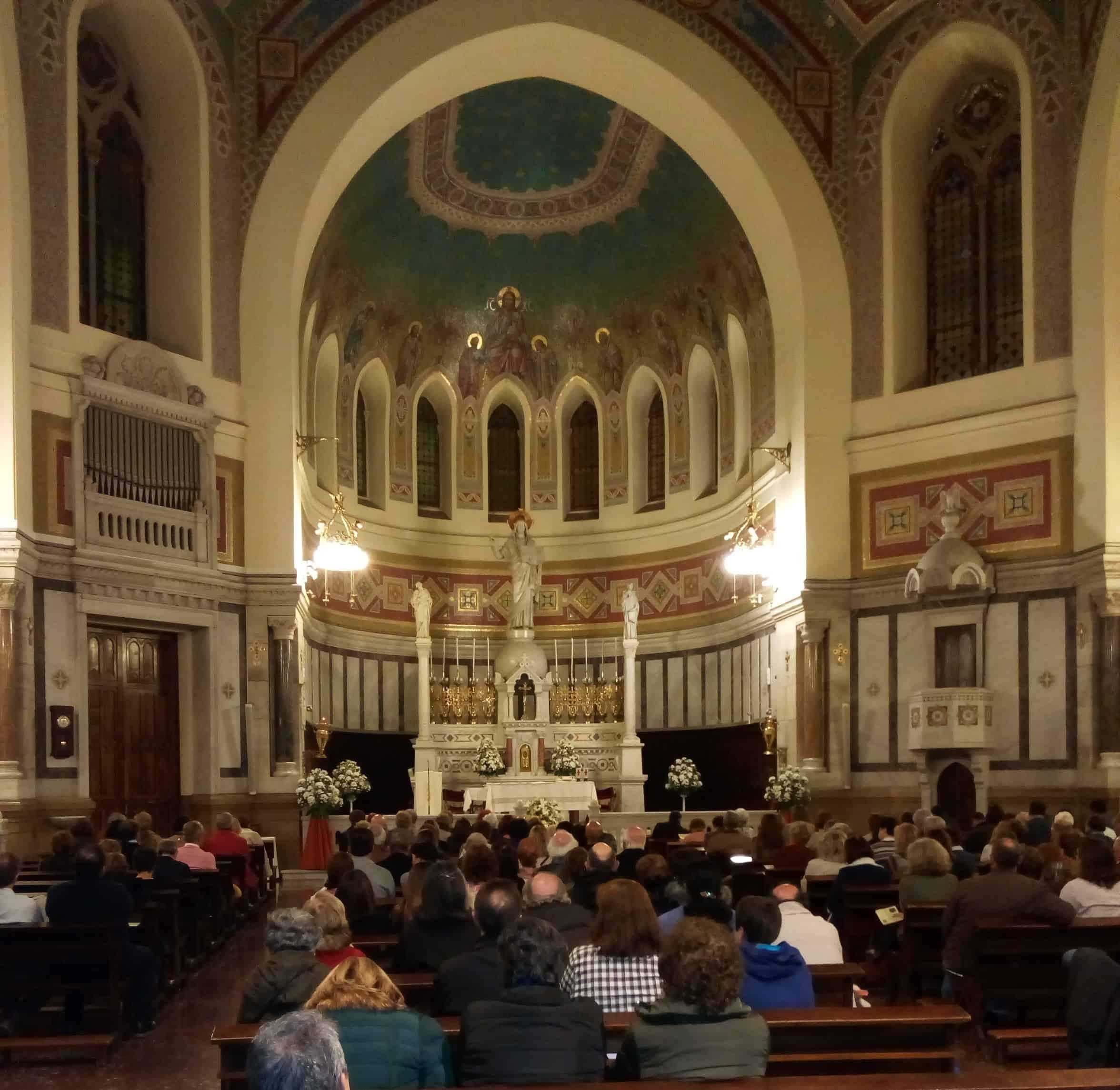 Foto del concierto de órgano en San Manuel y San Benito de la Fundación Maior