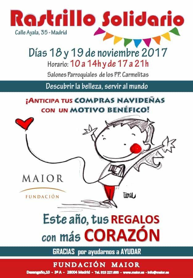 Cartel Rastrillo Solidario Maior 2017