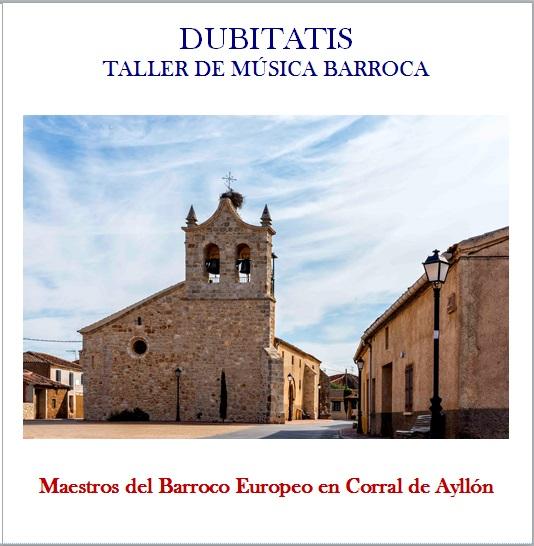 Portada CD2 Dubitatis Música Barroca