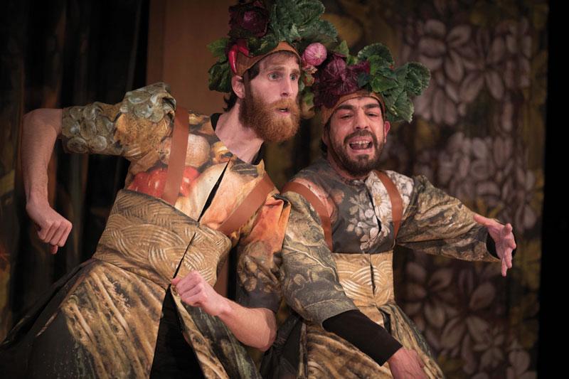 "Imagen de la obra ""Comedia Aquilana"" de Bartolomé Torres Naharro, dirigida por Ana Zamora en Teatro de la Comedia"