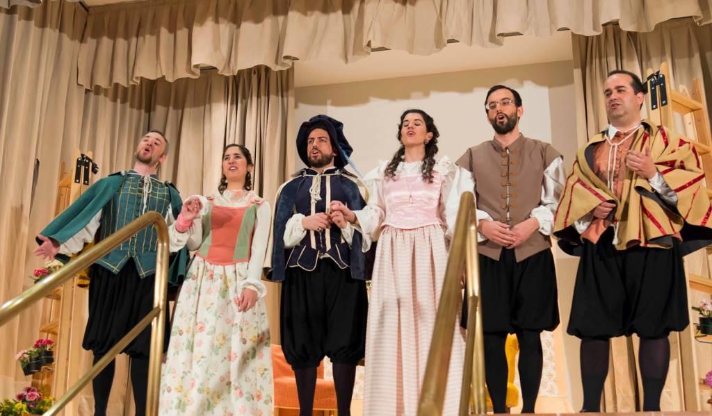 Teatro La Hermosa Fea Lope de Vega