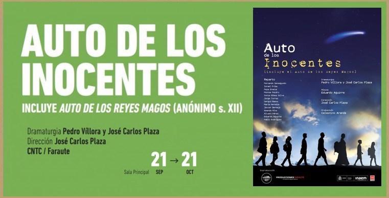 Cartel de Auto de los inocentes (Madrid)