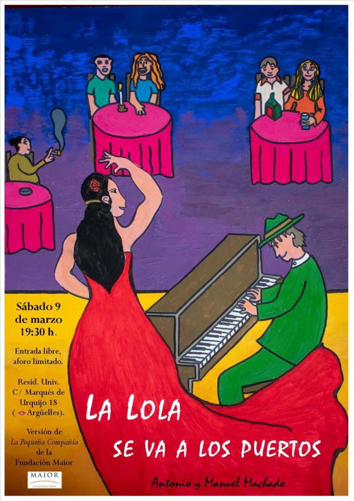 Cartel La Lola se va a los puertos Pequeña Compañía