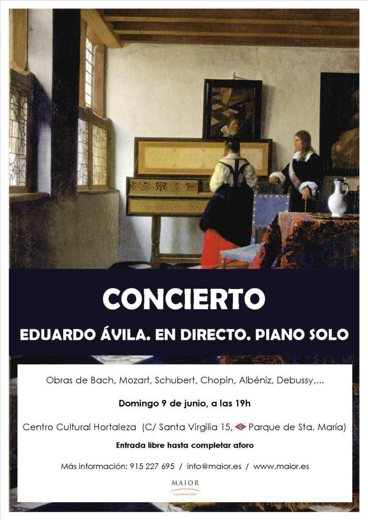 Cartel Concierto Piano 2019