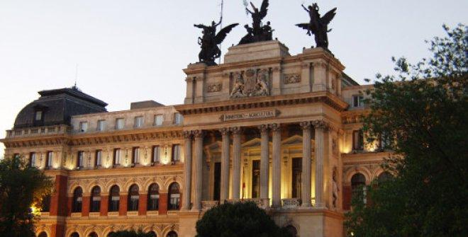 Fachada Palacio de Fomento