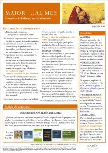 Boletín mensual de noticias y actividades de la Fundación Maior. Edición de mayo 2020