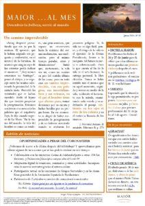 Boletín mensual de noticias y actividades de la Fundación Maior. Edición de junio 2020